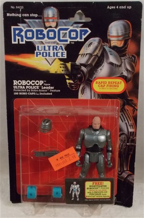 """""""OUT OF STOCK"""" Robocop Movie Figures By Kenner - Robocop"""