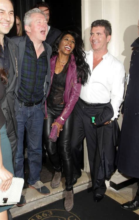 The X Factor 2014: Simon Cowell dines Louis Walsh after