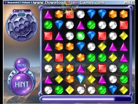 Bejeweled 2 Deluxe Trailer - Download Free Games - YouTube