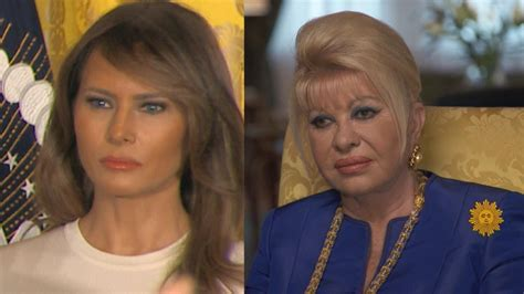 Ivana Trump on Melania as First Lady: 'I'm Basically First