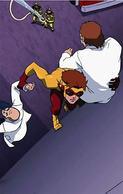 Kid Flash - Young Justice cartoon series - Character