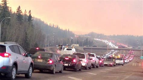 Fort McMurray Fire Updates: 'It's too hot to stop it