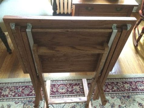 Custom Made Tv Tray Tables by M