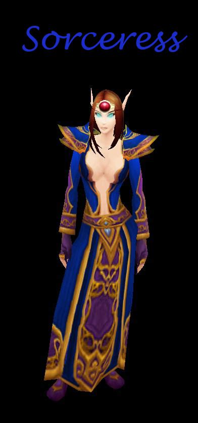 Sorceress image - World of Warcraft: The Frozen Throne mod