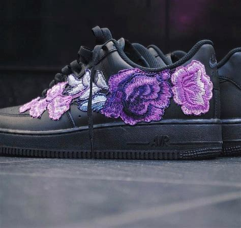 """FRE Customs Unveils Purple Nike Air Force 1 """"Flowerbomb"""