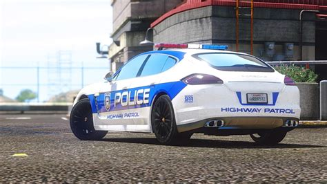 Porsche Panamera Turbo - Need for Speed Hot Pursuit Police