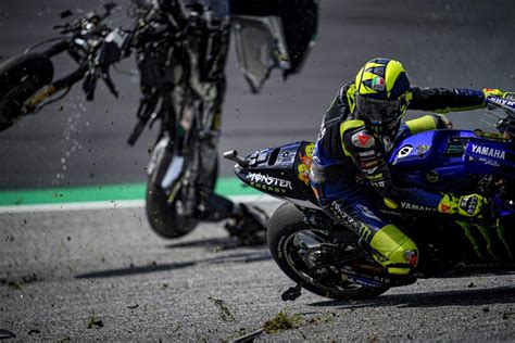 Rossi: 'Terrifying' crash demonstrates need for respect