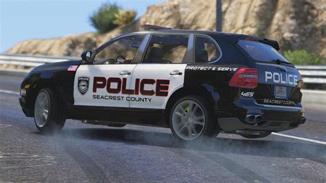 Porsche Cayenne - Need for Speed Hot Pursuit Police