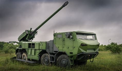 Nexter to supply 8x8 Caesar artillery systems to Danish Army