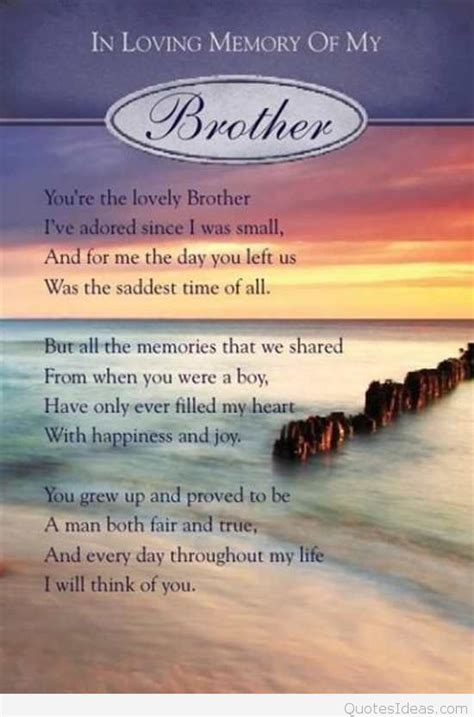 HAPPY BIRTHDAY QUOTES FOR BROTHER IN HEAVEN image quotes