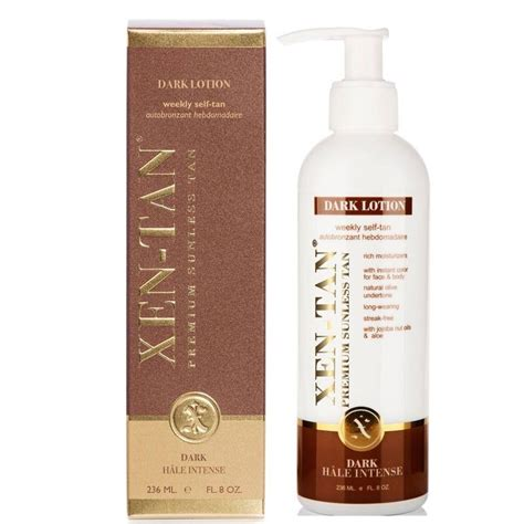 dark lotion - perfect for advanced tanners