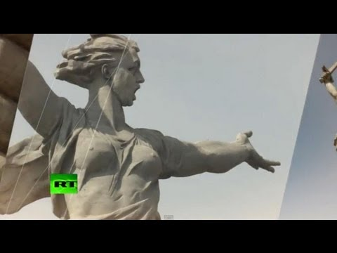 What's it like inside the giant statue the Motherland