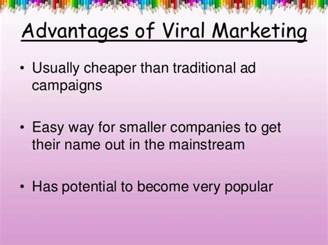 Viral marketing with an example