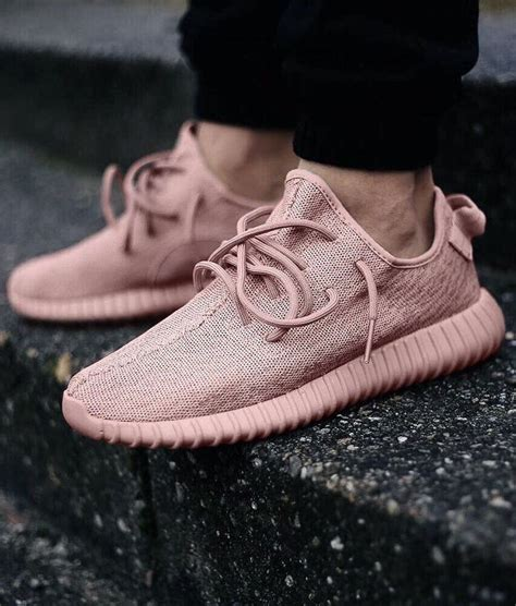 Baby Pink Yeezy Boost 350s