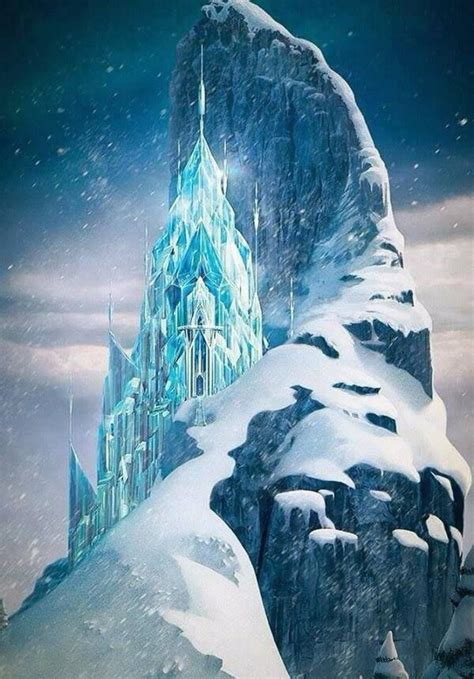 Ice castle clipart - Clipground