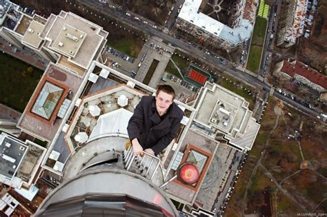 Chuck's Fun Page 2: Fear of heights - Acrophobia (18 photos)