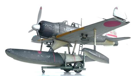Trumpeter 1/24 Nakajima A6M2-N Rufe   Large Scale Planes