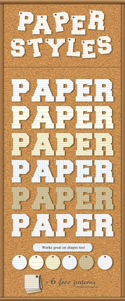 Paper Styles by IvaxXx (With images)