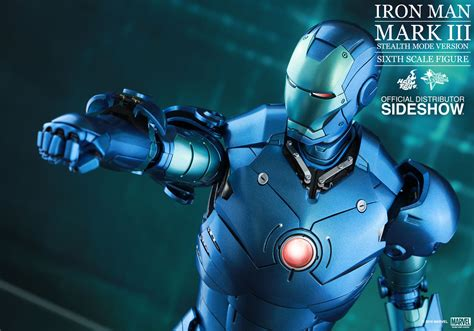 Product Announcement Hot Toys Iron Man MKIII STEALTH SUIT BLUE