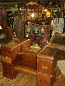 Antique Vanities/dressing Tables--why Are They So Low? I