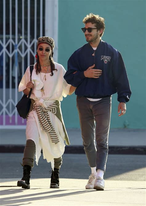FKA TWIGS and Shia Labeouf Out Shopping in Los Angeles 04