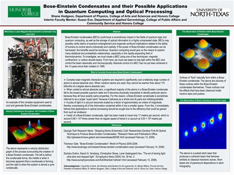 Bose-Einstein Condensates and their Possible Applications