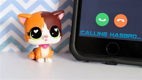 Calling Hasbro To Get Free LPS - YouTube