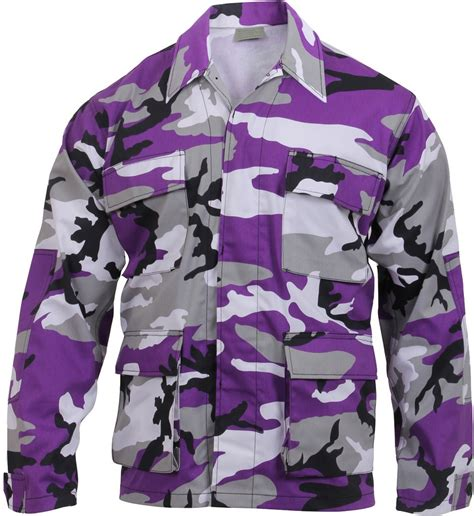 Purple Camouflage - Military BDU Shirt - Army Navy Store