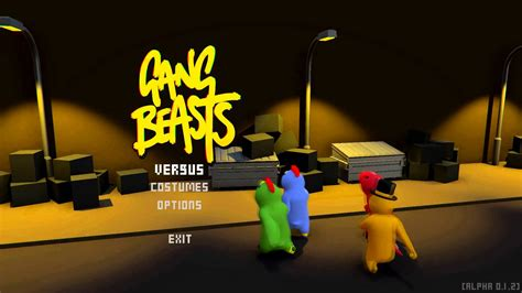 COUCH CO-OP / Gang Beasts (PC) - That VideoGame Blog