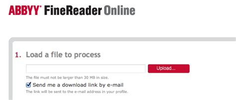 How to OCR Documents Online With ABBYY FineReader