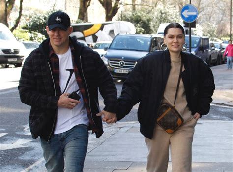 Channing Tatum and Jessie J hold hands in London