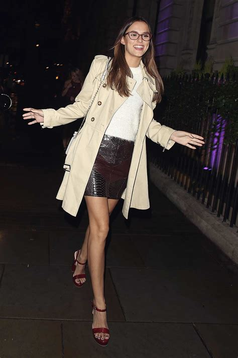 Lucy Watson attends the Specsavers 'Spectacle Wearer of