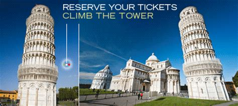 Information and ticket booking for the Leaning Tower of Pisa