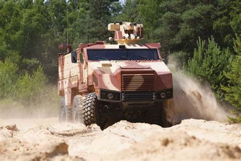 TITUS Armoured Wheeled Vehicle - Army Technology