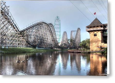Six Flags New Jersey Photograph by Debra Forand