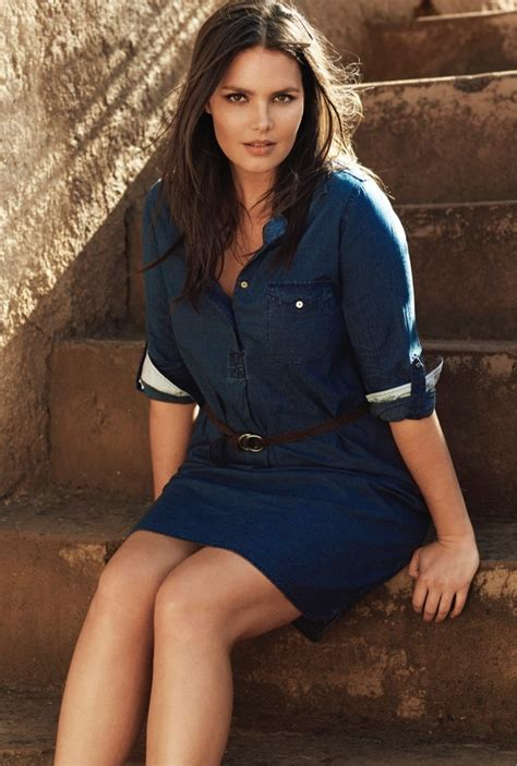 Candice Huffine for Violeta by Mango Summer 2015 Catalogue