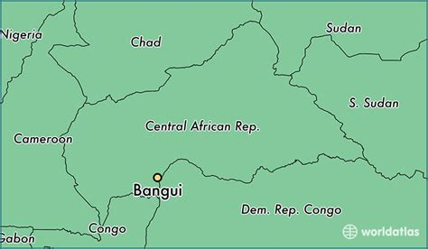 Where is Bangui, The Central African Republic? / Bangui