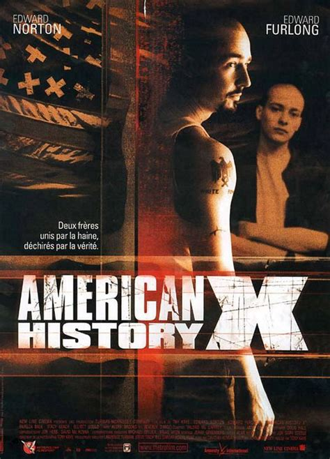 American History X Movie Poster (#2 of 3) - IMP Awards