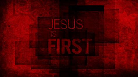 Jesus is First | Wallpaper #1 | Wawasee Bible