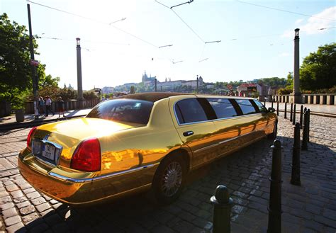 Night Golden Limo in Prague for Stag Do's Parties   Vox Travel