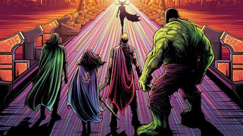 Before Thor: Ragnarok Comes to Theaters, Hang It On Your Wall