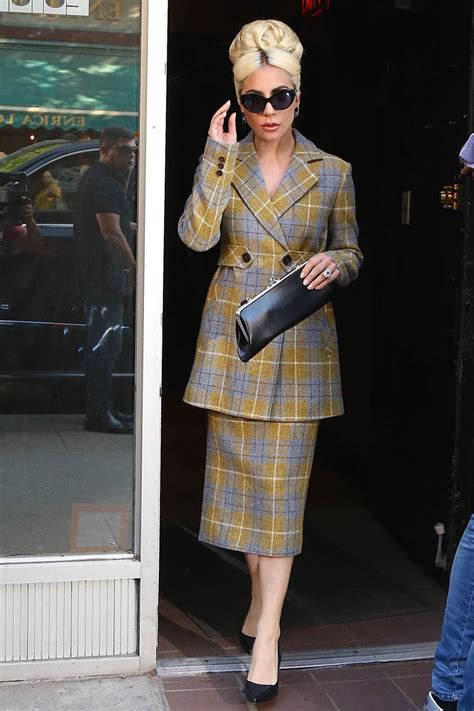 Lady Gaga steps out in New York in multiple outfits
