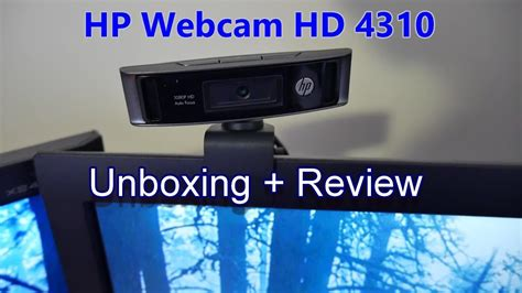 HP webcam HD 4310 Review and Unboxing - YouTube