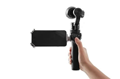DJI launches Osmo, an iPhone-connected 4K steadicam for $650