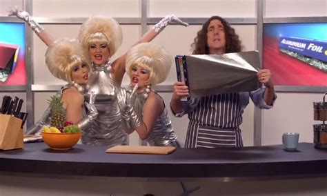 Weird Al Yankovic discovers the virtues of Foil in wacky