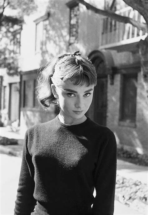 Intimate Pictures of Young Starlet Audrey Hepburn at Home