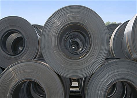 SAE 1006 Hot Rolled Carbon Steel Coil With Mill Edge / Un