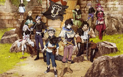 33 Black Clover HD Wallpapers | Background Images