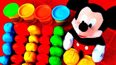 30 Surprise Eggs! Play Doh MICKEY MOUSE Peppa Pig Frozen