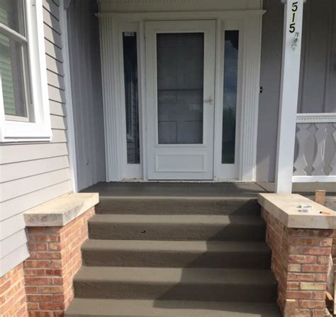Residential Concrete Patio, Walks & Stairs - Photo Gallery